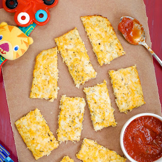Cauliflower Cheesy Bread Recipe