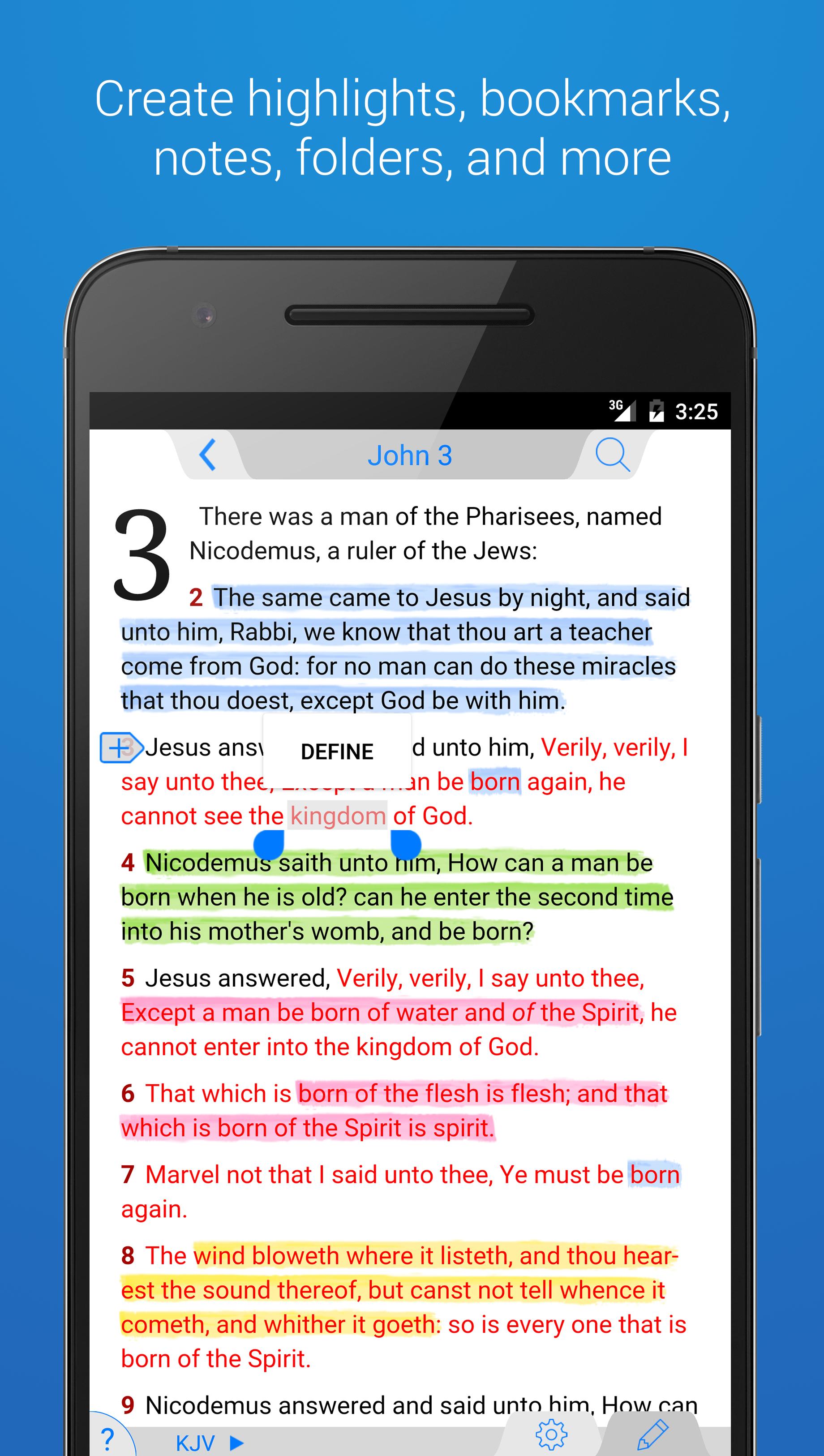 The Holy Bible - King James screenshot #1