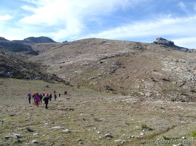 Sierra Hidalga desde Quejigales