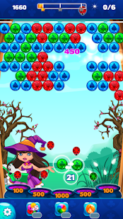 Halloween Town Bubble Shooter- screenshot thumbnail