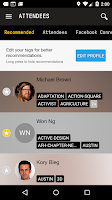 Screenshot of SXSW Eco 2015 Mobile Guide