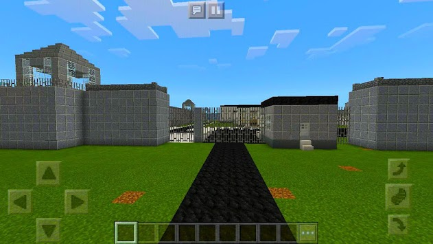 New Prison Life roblox map for MCPE road block 2!