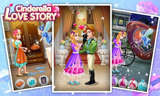 Download Cinderella Love Story For PC Windows and Mac apk screenshot 1