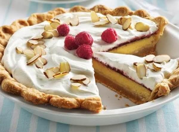 Raspberry Lemon Cream Pie With Almond Crust Recipe