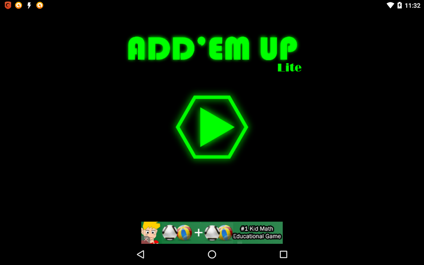 Add'em Up Lite- screenshot