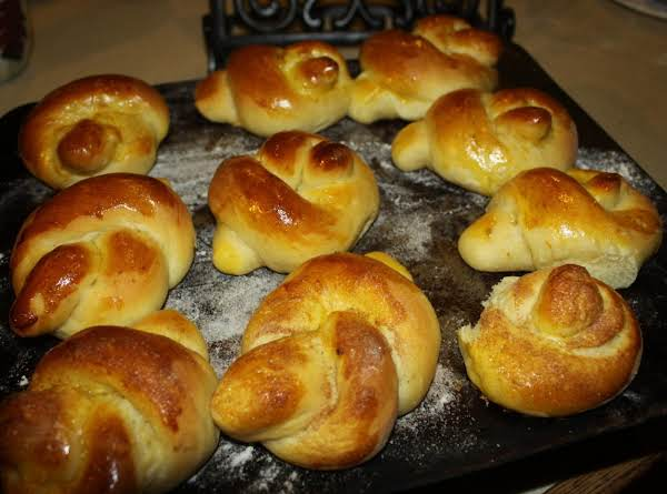Orange Breakfast Buns Recipe