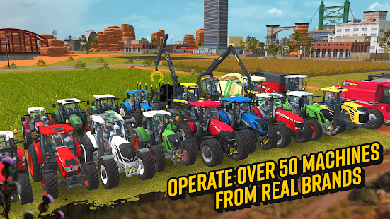 Farming Simulator 18 v1.4 APK (Mod Money) Data Obb Full Torrent