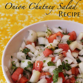 Indian Tomato Onion Salad Recipes.