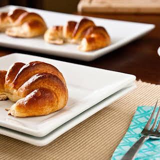 Homemade Croissants.