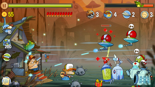 Swamp Attack screenshot 7