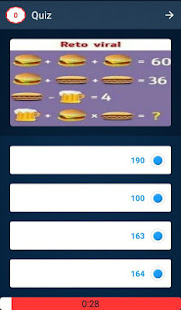 Math Quiz Game, Mathematics 6