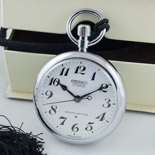 aa638c626 My latest group of items from Japan included a 61RW 6110-0010 pocket watch.