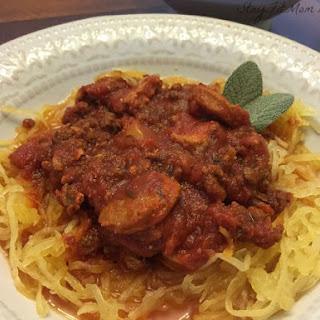 Easy Paleo Homestyle Spaghetti