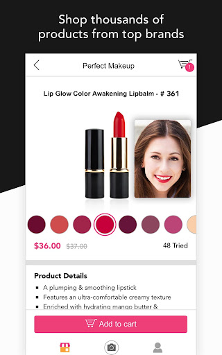 YouCam Shop - World's First AR Makeup Shopping App  screenshots 4