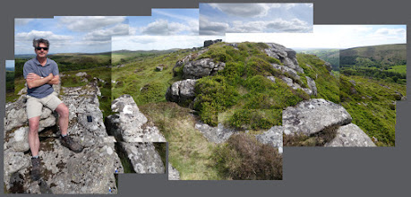 Photo: Honeybag Tor with Michael