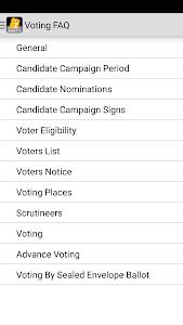 Winnipeg Elections screenshot 4