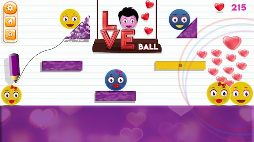 Love Ball - Physics Puzzle 1.1.2 screenshots 2