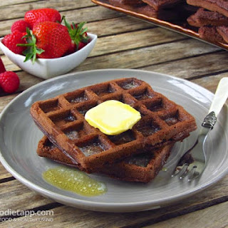 Double Chocolate Keto Waffles
