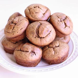 Chocolate Almond Butter Blender Muffins