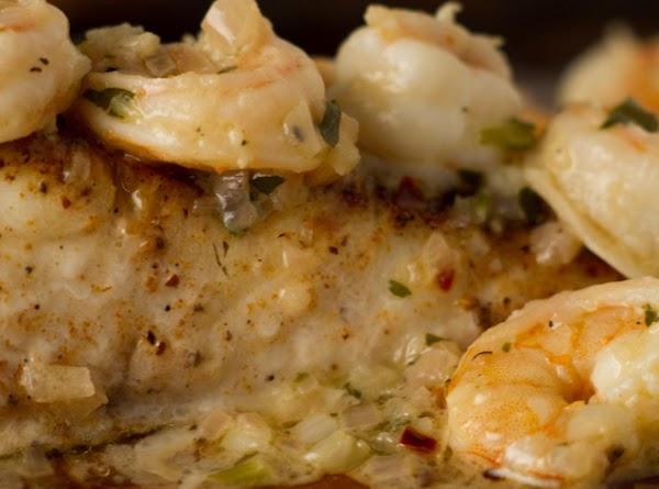 Orange Baked Fish And Shrimp Recipe