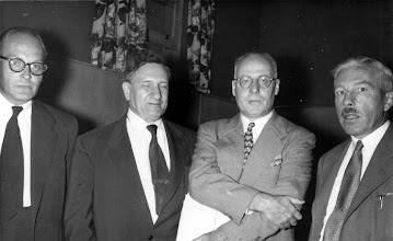 Photo: George Ostiguy, Ernest Szekely, Bunny Stotesbury, John Fox (of Toronto)