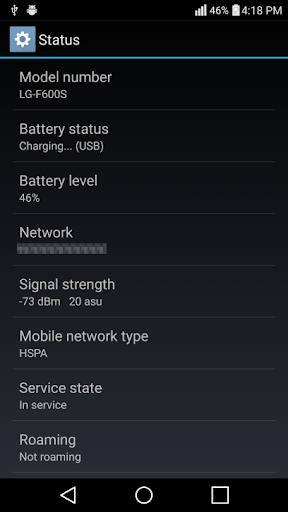 LG V10 Hidden Settings No Root 1.0 screenshots 5