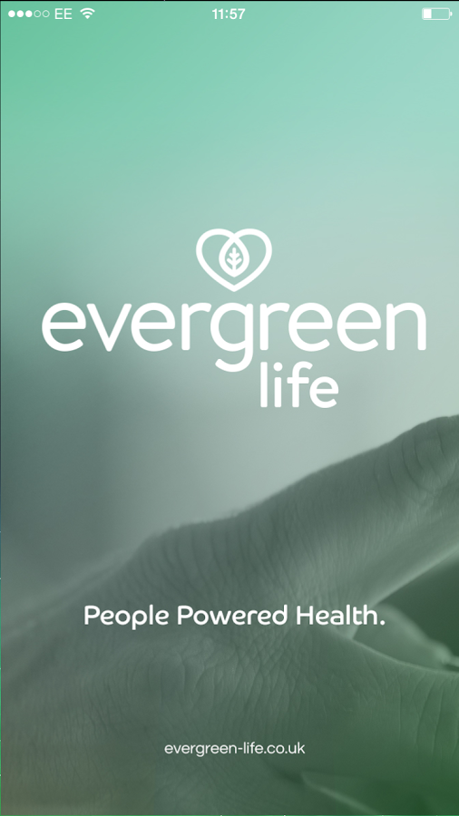 Evergreen Life PHR- screenshot