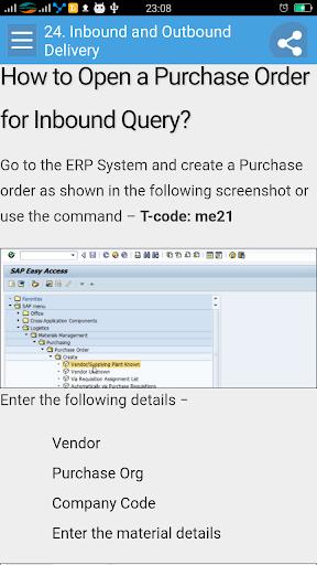 Learn SAP EWM 1.1 screenshots 5