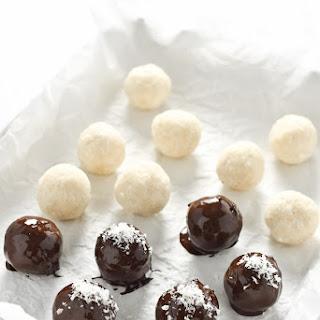 Chocolate Coconut Bliss Balls.