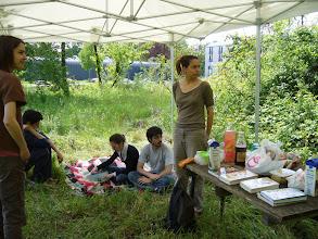 Photo: Journée au sentier nature samedi, c'est bientôt l'heure du pique-nique