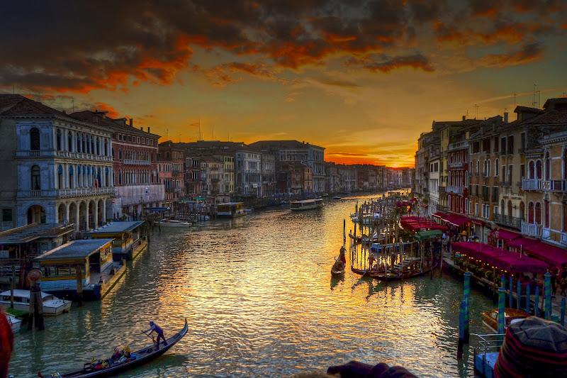 Canal Grande dipinto di giuseppedangelo
