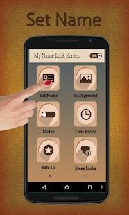 Free Download Name Lock Screen Passcode APK