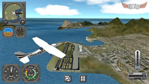 Flight Simulator 2013 FlyWings - Rio de Janeiro apktram screenshots 8