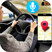 Tải Game gps driving navigation voice map route direction