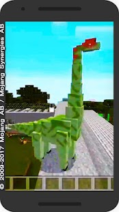 Jurassic Craft MCPE Addon with Dinosaurs! - náhled