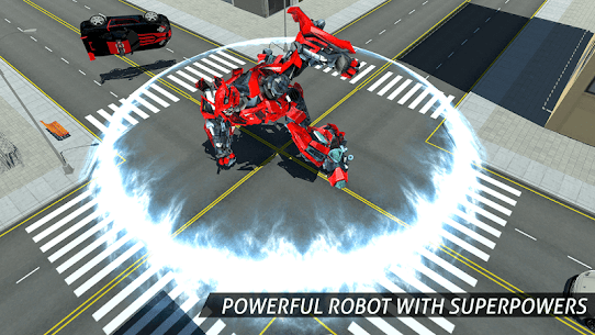 Air Robot Game – Flying Robot Transforming Plane 7
