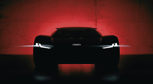 Audi has released this image of the PB18 E-tron concept it will show at Pebble Beach. Picture: NEWSPRESS UK