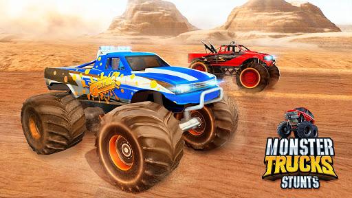 Monster Truck OffRoad Racing Stunts Game 1.7 screenshots 5