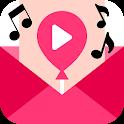 Video Invitation Maker : Video Ecards & invites icon