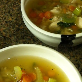 Hearty Chicken and Rice Soup