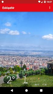 Eskişehir Hava Durumu Tahmini - náhled