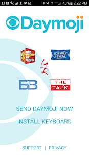 CBS Daytime Daymoji- screenshot thumbnail