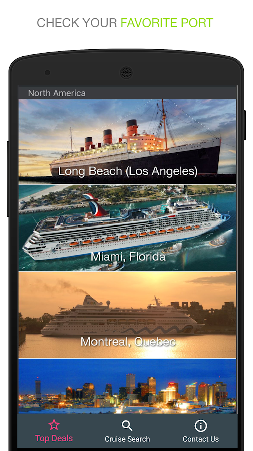 Cruise Deals Android Apps On Google Play - Cruise deals from miami