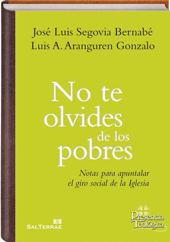 LIBRO: NO TE OLVIDES DE LOS POBRES