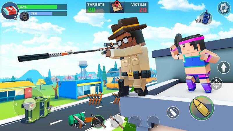 PIXEL'S UNKNOWN BATTLE GROUND Screenshot 13