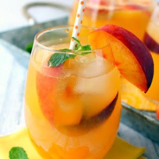 Sparkling Peach Lemonade.