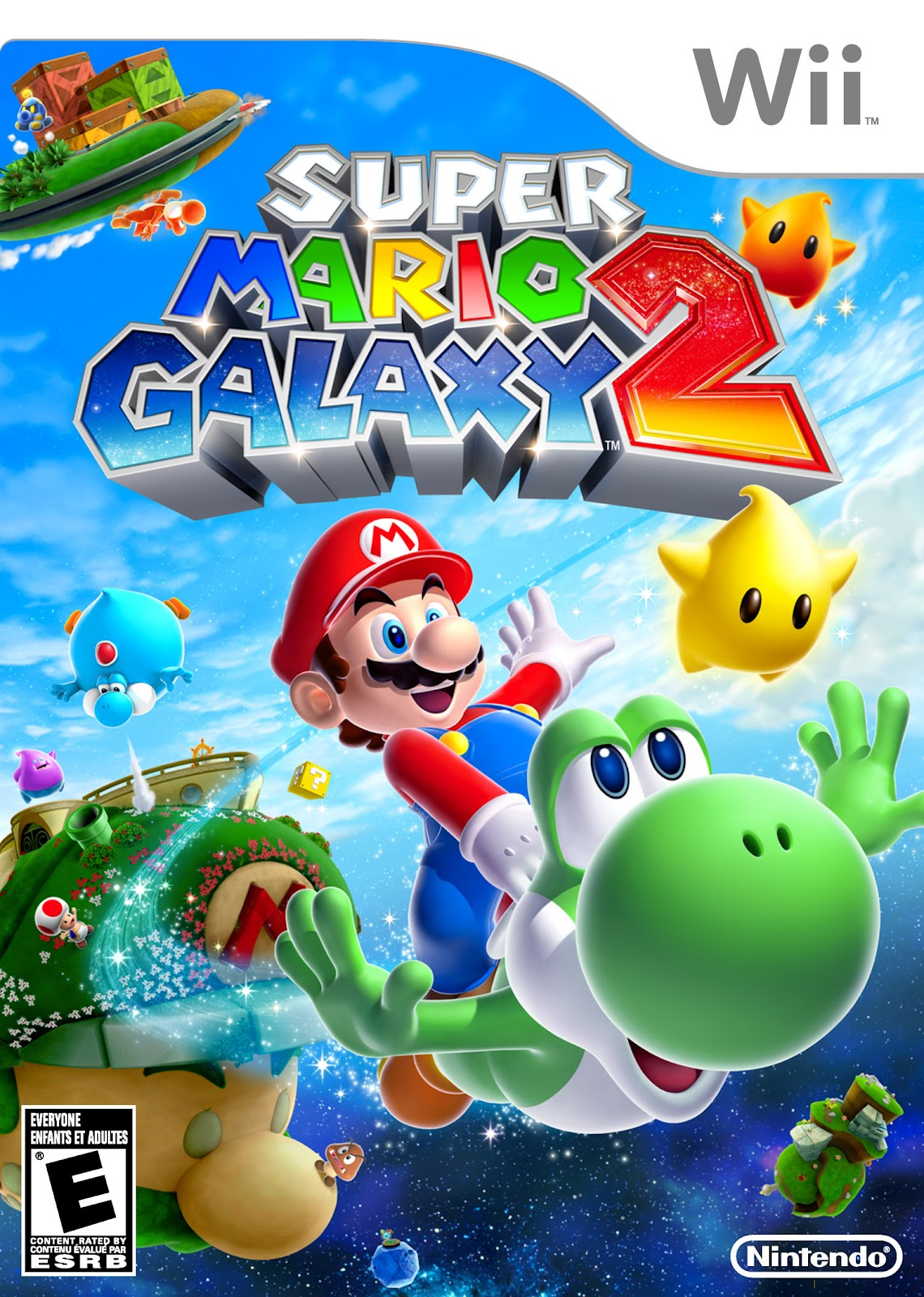 Image result for super mario galaxy 2 boxart