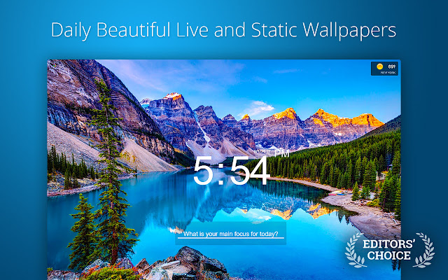 Live Start Page - Living Wallpapers