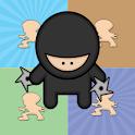 Ninja Coming Memory Games icon