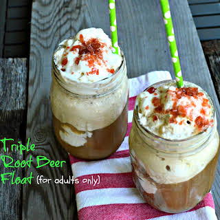 Triple Root Beer Float.